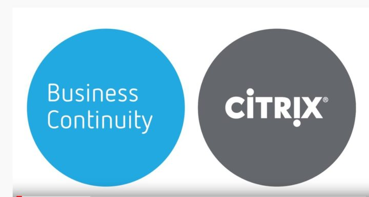 Video – Ensuring Business Continuity, High Availability, and Disaster Recovery with Citrix Cloud