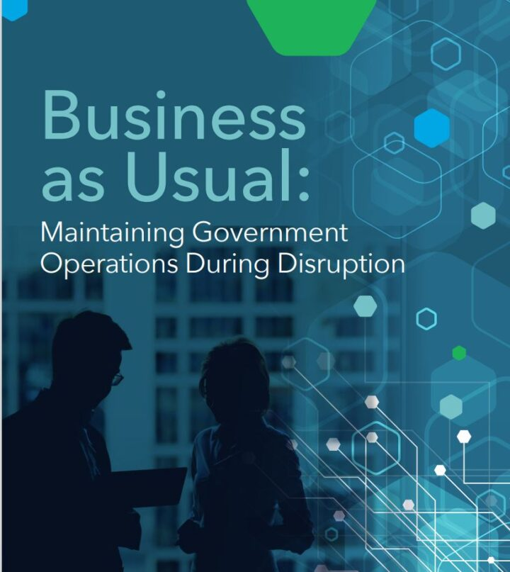 PDF – Business as Usual: Maintaining Government Operations During Disruption