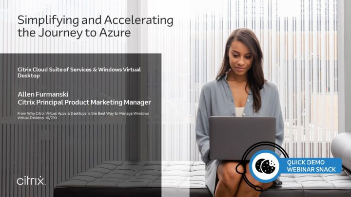 Quick Demo Webinar Snack: Simplifying and Accelerating the Journey to Azure v106s4